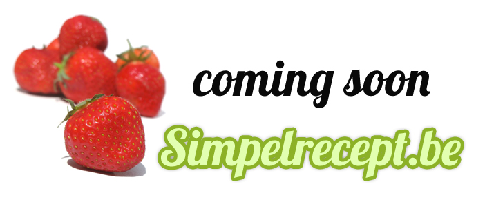 Simpelrecept.be - coming soon